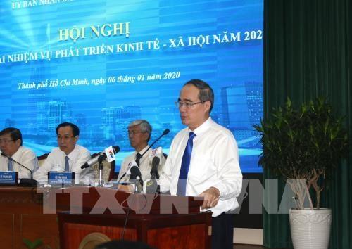 胡志明市以经济结构调整提高经济竞争力 hinh anh 1
