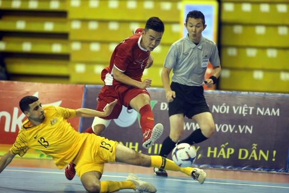 越南队力争在2020年亚洲室内五人制足球锦标赛取得佳绩 hinh anh 1