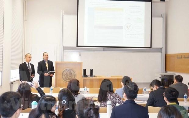第5次旅捷越南大学生科学研究研讨会在捷克举行 hinh anh 1