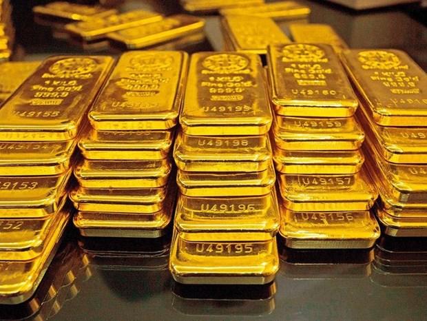 1月7日越南国内黄金价格大幅下降 hinh anh 1