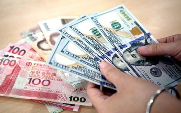 1月7日越盾对美元汇率中间价上调7越盾 hinh anh 1