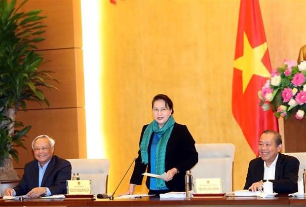 国会主席阮氏金银:越南法律体系不断健全完善 hinh anh 1