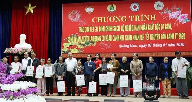 越南政府和国会领导开展春节前的慰问活动 hinh anh 1