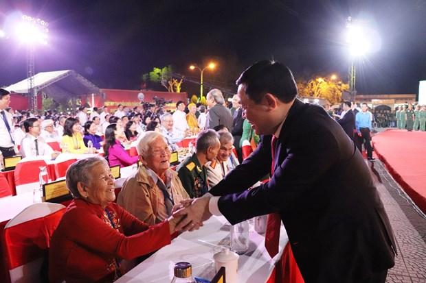 越南政府副总理王廷惠出席苏海战争胜利60周年纪念活动 hinh anh 2