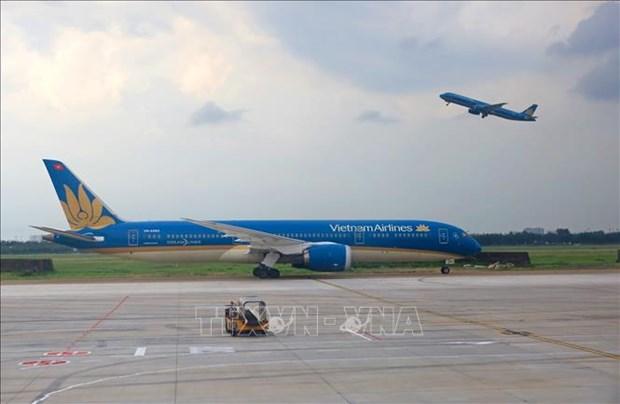 越南调整航班的飞行路线 以避开中东地区 hinh anh 1