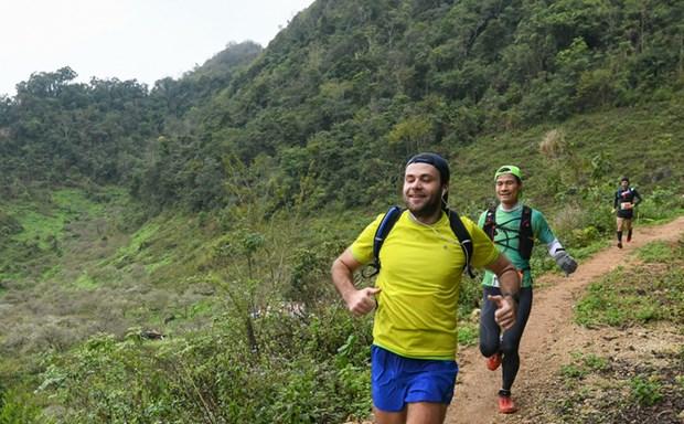 3000名运动员将参加在木州县举行的2020年越野马拉松赛 hinh anh 1