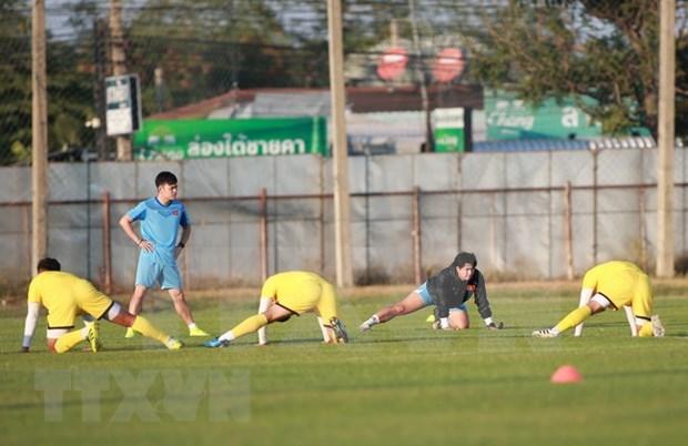 2020年U23亚洲杯:越南U23球队首场比赛将于1月10日进行 hinh anh 1