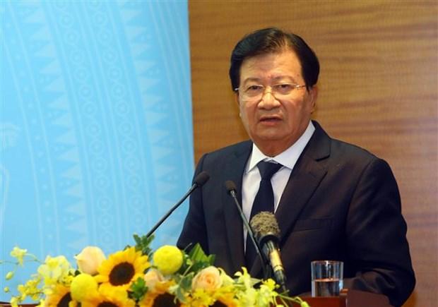 政府副总理郑廷勇:PVN需加快各重点项目施工进度 hinh anh 1
