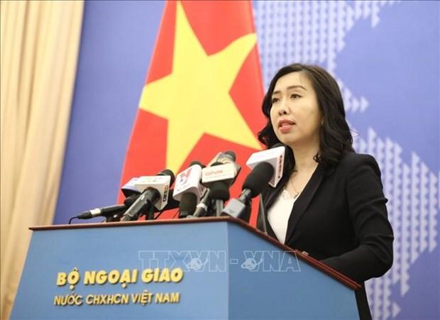 外交部发言人:确保在中东地区的越南公民的生命安全 hinh anh 1