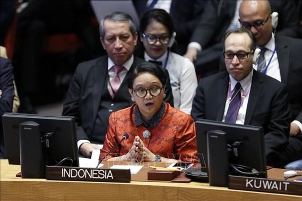 """印尼外长:涉及主权问题""""没有谈判余地"""" hinh anh 1"""