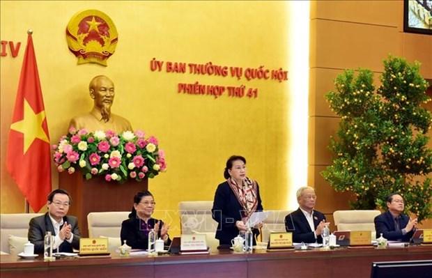 越南国会常务委员会第41次会议拉开序幕 hinh anh 1