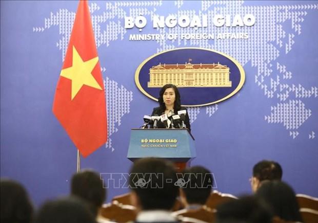 外交部发言人:越南一直关注、研究与评估湄公河水资源相关活动 hinh anh 1
