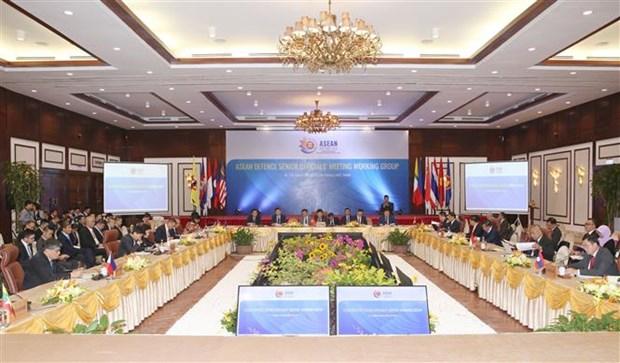 2020东盟轮值主席年:东盟国防高级官员工作小组会议开幕 hinh anh 1