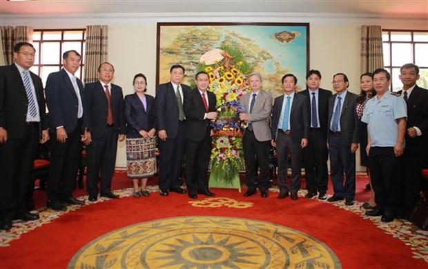 承天顺化省与老挝沙湾拿吉省加强合作 hinh anh 2