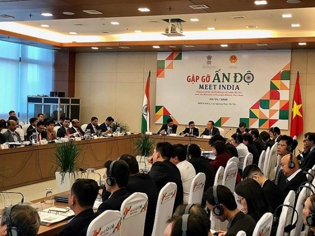 越南与印度充分发挥潜能 促进共同发展 hinh anh 1