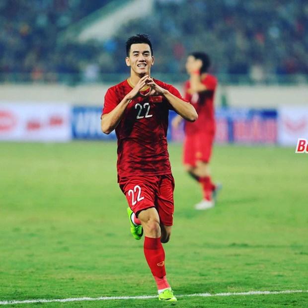 2020年U23亚洲杯:亚足联高度盛赞越南球员进玲 hinh anh 1