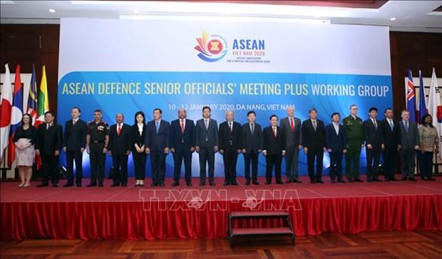 东盟国防高级官员工作组扩大会议在岘港召开 hinh anh 2