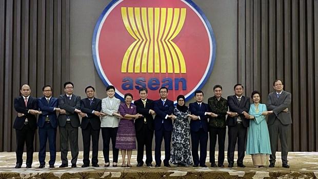 越南主持2020年东盟常驻代表委员会首次会议 hinh anh 2