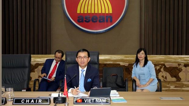 越南主持2020年东盟常驻代表委员会首次会议 hinh anh 1