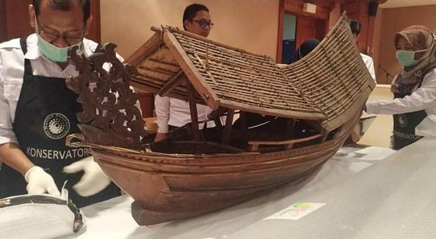 荷兰将1500件文物归还印度尼西亚 hinh anh 1
