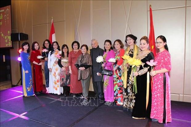 旅外越南人纷纷举行活动 喜迎2020庚子鼠年新春 hinh anh 2