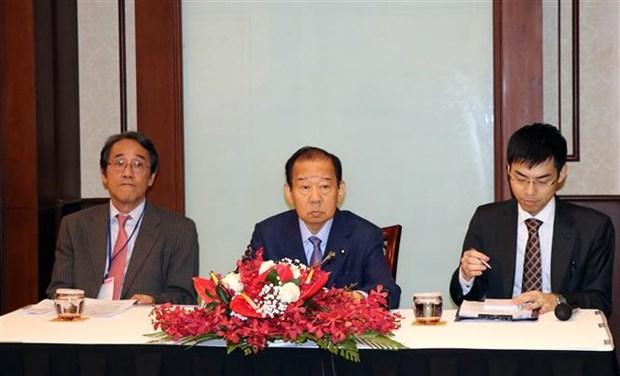 日本自由民主党秘书长二阶俊博访问越南岘港市 hinh anh 2