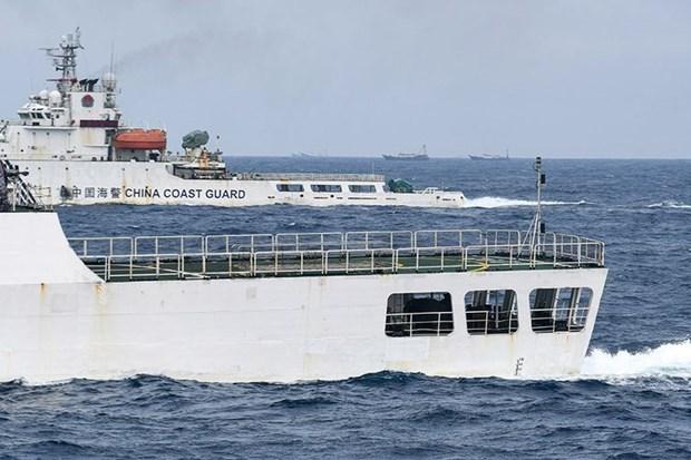 印度尼西亚:中国船只继续侵犯该国专属经济区 hinh anh 1
