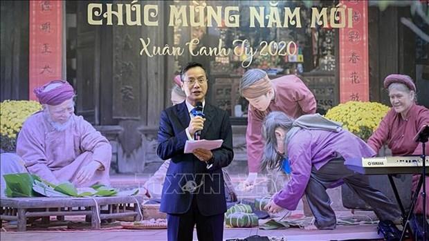 在香港等地越南人喜迎新春 hinh anh 2
