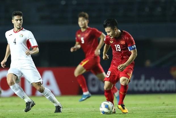 2020年U23亚洲杯: 越南队与约旦队握手言和 hinh anh 1