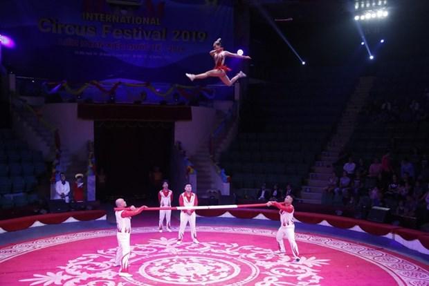 2020年国际杂技节在胡志明市举行 hinh anh 1