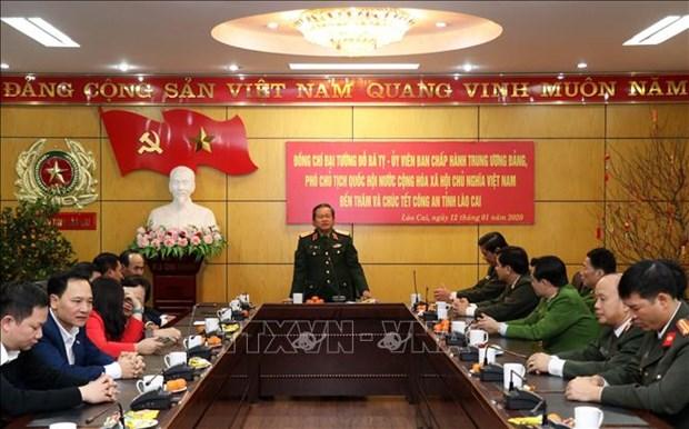 越南领导开展春节前夕走访慰问活动 hinh anh 2