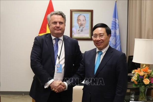 乌克兰高度评价越南在联合国安理会公开辩论会上的讨论议题 hinh anh 1