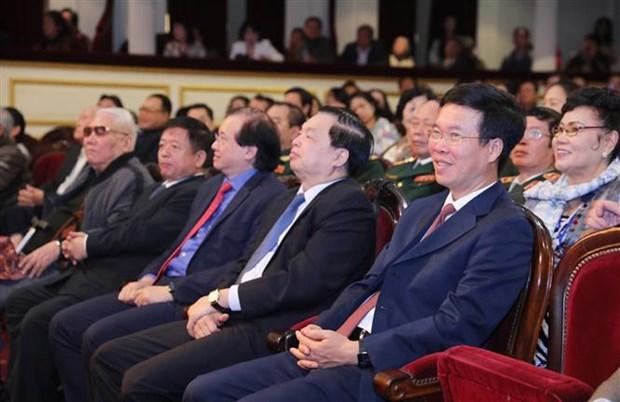 武文赏出席越南戏剧艺术家协会第9次全国代表大会 hinh anh 2