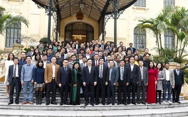 越南外交部举行2020年新春媒体见面会 hinh anh 2