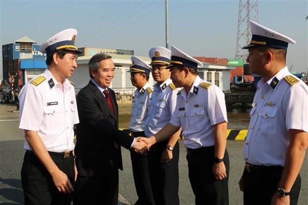 把西贡新港建设成为越南一流物流服务与海洋经济的国防经济集团 hinh anh 1
