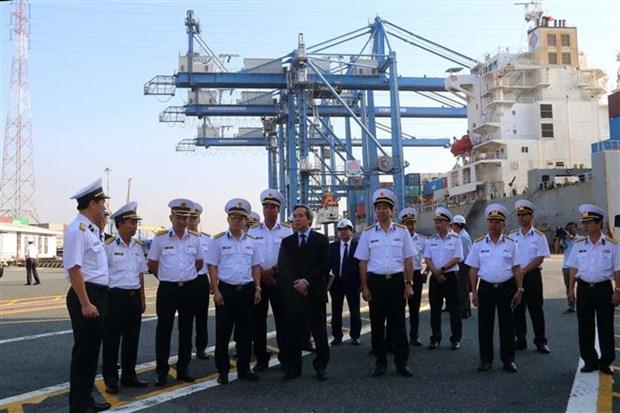 把西贡新港建设成为越南一流物流服务与海洋经济的国防经济集团 hinh anh 2