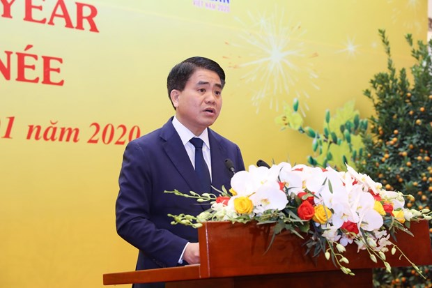 各国驻越外交使团见面会在首都河内举行 hinh anh 3