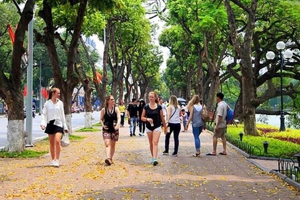 2020年河内市力争接待游客量达到3200万人次的目标 hinh anh 1