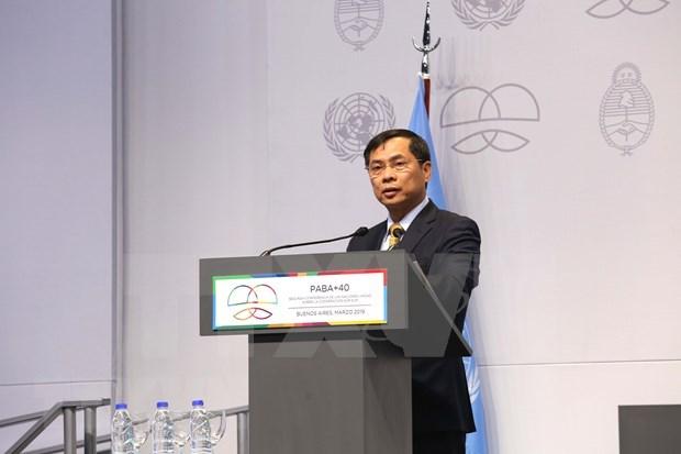 越南外交部常务副部长裴青山对欧洲议会进行工作访问 hinh anh 1