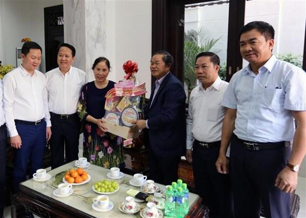 国会副主席杜伯巳向胡志明市原党、国家领导人拜年 hinh anh 2