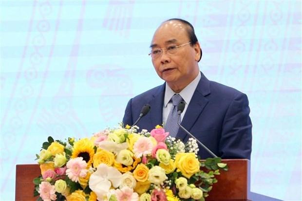 阮春福总理出席越南企业国有资本管理委员会2020年任务部署会议 hinh anh 1