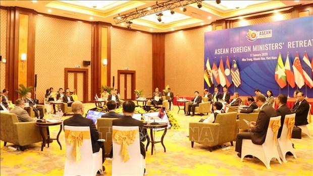 东盟外交部长非正式会议在越南庆和省召开 hinh anh 2