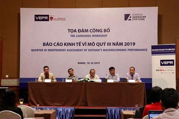 VEPR发布2019年越南宏观经济报告 hinh anh 1