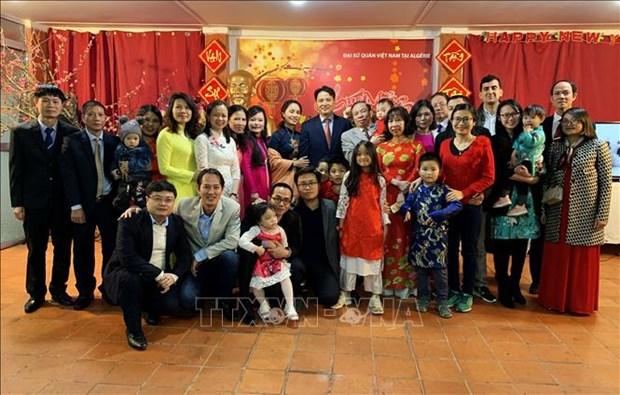 旅外越南人纷纷举行活动喜迎新春佳节 hinh anh 2