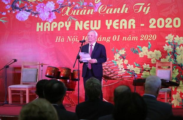 各国驻越外交使团、国际组织、非政府组织见面会在首都河内举行 hinh anh 3