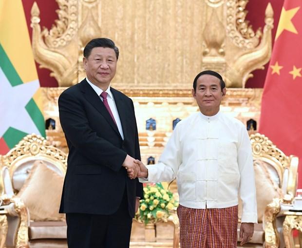中国国家主席习近平出访缅甸 hinh anh 2
