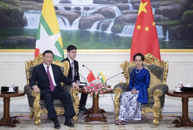 中国国家主席习近平出访缅甸 hinh anh 1