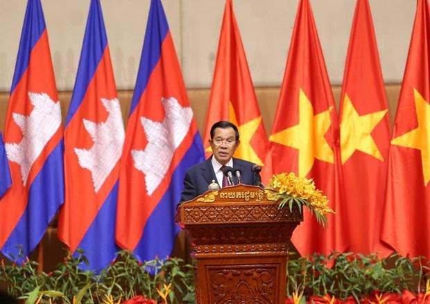 在柬越资企业喜迎2020庚子年新春佳节 hinh anh 2