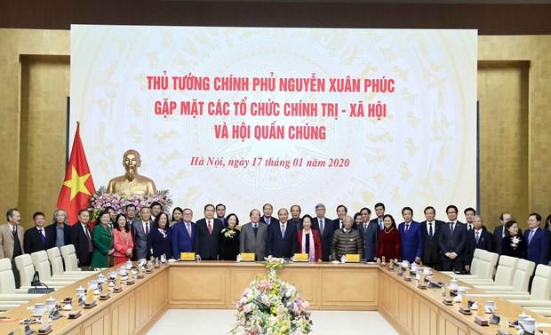 阮春福:党、国家要动员人民而不是靠级别、靠权力与群众说话 hinh anh 2