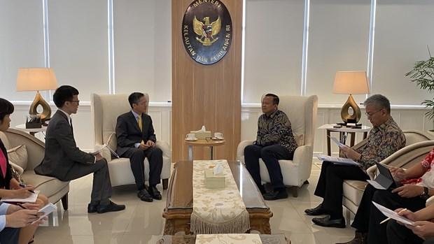 越南与印尼共同深化水产养殖和加工业合作 hinh anh 1